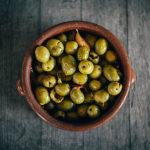 Домашние оливки