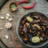 Mussels la plancha