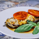 Eggplant stuffed